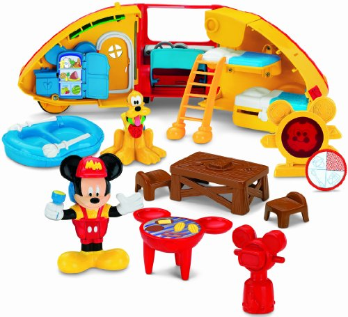 Fisher-Price Disney's Mickey Mouse Camper's Playset