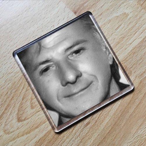 DUSTIN HOFFMAN - Original Art Coaster #js001