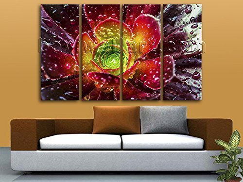 Extra Large Contemporary Abstract Floral Art Print On