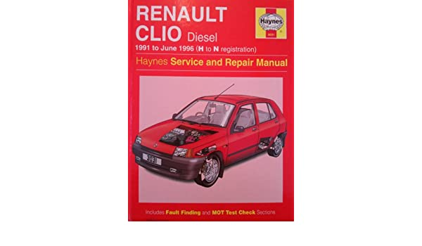 Renault Clio Diesel Service and Repair Manual Haynes Service and Repair Manuals: Amazon.es: A. K. Legg: Libros en idiomas extranjeros