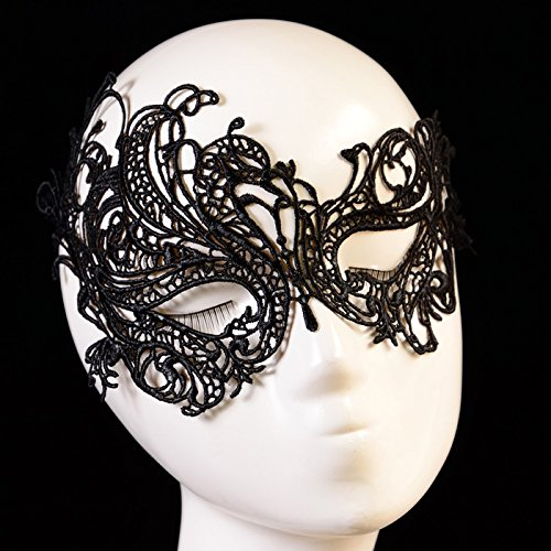 [Baomabao Sexy Lace Eye Mask Masquerade Ball Halloween Party Fancy Costume] (Board Game Halloween Costumes Diy)