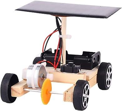 Solarauto Bausatz Solarenergie Experimente Spielzeug Konstruktionsspielzeug aus