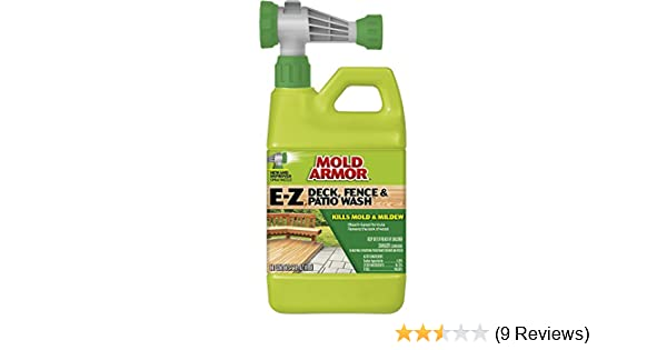 Amazon Mold Armor FG E Z Deck Wash Hose End Sprayer Plain