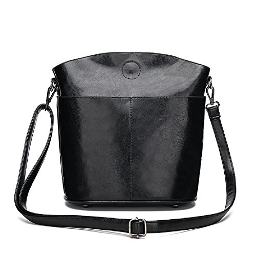coloré bandoulière Unique Noir ZHRUI Sac Sac Marron à bandoulière à 1xxUR0g