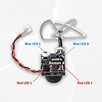GOQOTOMO GT06 AIO 600TVL Micro Camera 48CH 5.8GHz 25mW FPV Transmitter with Dipole Antenna for Indoor FPV Drone Like Blade Inductrix Tiny Whoops
