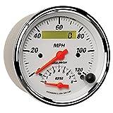 Auto Meter 1381 Arctic White Tach/Speedo Combo