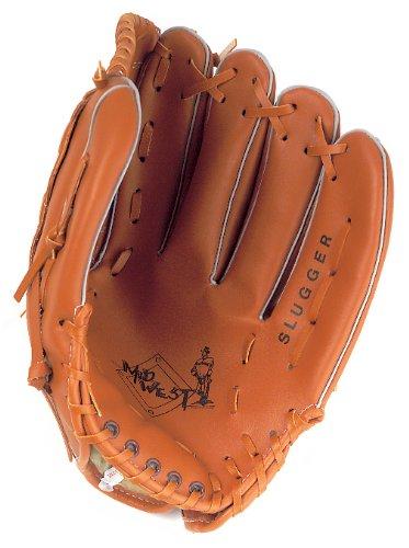 Midwest Slugger Baseball Handschuh Fanghandschuh Linke Hand Junior / Senior Braun braun 10 inch