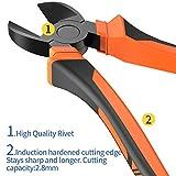 BOENFU Wire Cutter Heavy Duty, Diagonal