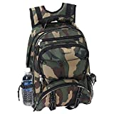 ExtremePak Camouflage Water Resistant Heavy Duty Backpack
