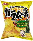 Koikeya Karamucho Potato Chips, Spicy Seaweed, 2.01