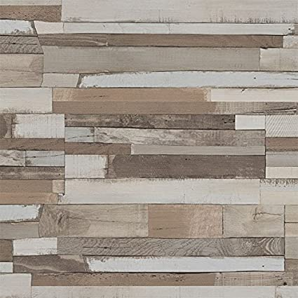 4 Pack of Dumapan SMP Shipwreck Wood Effect Wall Panel - 3D Effect PVC  Bathroom / Kitchen Wall Panels