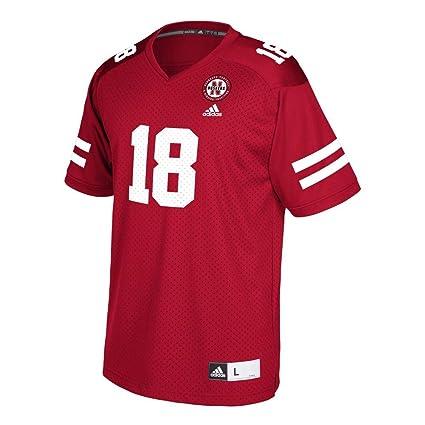3e210d22ad9 Amazon.com   adidas Nebraska Cornhuskers Replica Jersey Youth Jersey ...