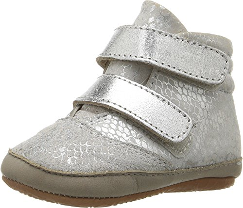 Old Soles Unisex Space Cadet (Infant/Toddler) Silver Python/Silver/Elephant Grey Flat (Cadet Footwear)