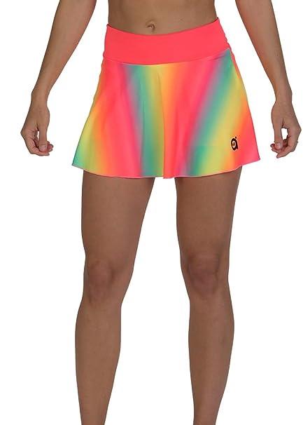 a40grados Sport & Style, Falda Tutifruti, Mujer, Tenis y Padel (Paddle)