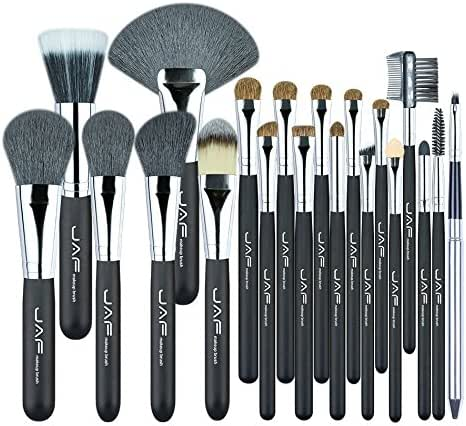 USLLYY Studio 20 Pcs/Set Makup Brushes Premiuim Natural Hair of Goat & Pony Horse Super Soft Makeup Brush Tool Set J2001PY-B