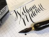 Rare NOS ( New Old Stock ) vintage William Mitchell Flexible 3 tines Music Nibs.
