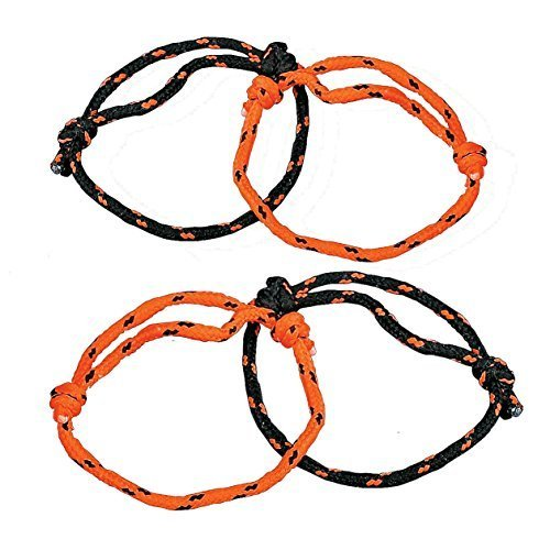 Fun Express Halloween Orange and Black Nylon Friendship