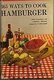 365 Ways To Cook Hamburger