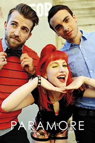 - Paramore Group Music Poster 24x36