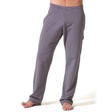 Beckons Strength Organic Cotton Long Yoga Pants Men's at Amazon ...
