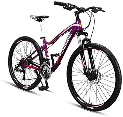 Adecuado para bicicletas de montaña de 27 velocidades, 26 pulgadas, color rosa, tamaño L: Amazon.es: Deportes y aire libre
