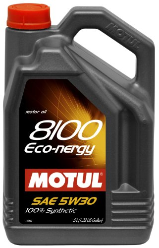 2018 Subaru Baja Clutch - Motul MTL102898 102898 8100 Eco-nergy 5W-30 100 Percent Synthetic-5 Liter, 5. liters