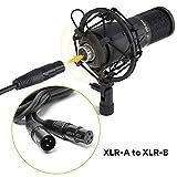 XLR Condenser Microphone Kit MAONO AU-PM320S