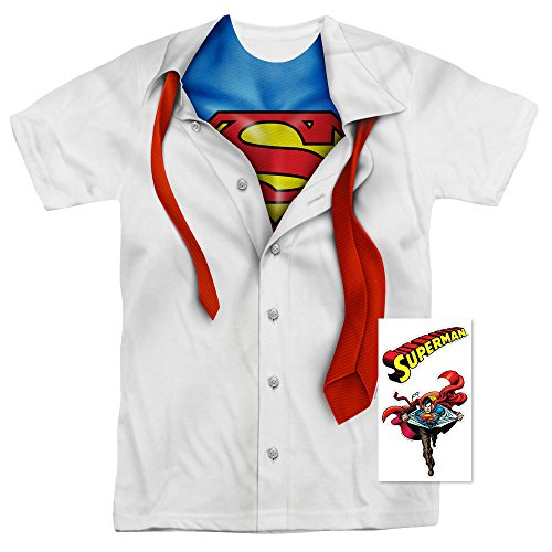 Superman Shirt and Tie DC Comics T Shirt -