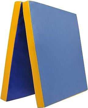 200 x 100 x 8 cm in gelb RG 22 Grevinga® RESTPOSTEN klappbare Turnmatte ca