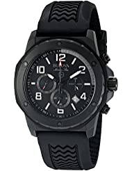 Bulova Mens 98B223 Marine Star Analog Display Quartz Black Watch