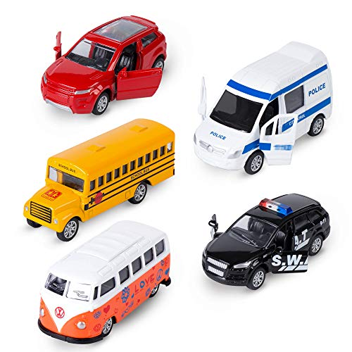 KIDAMI Die-cast Metal Toy Cars S...