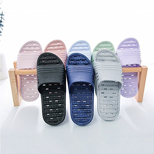 Shower Sandal Women Pool Slipper Shoes Slippers Slip Feicy Indoor Men Water Beach Grey Dorms Soft Bathroom Non BqxqSwzC