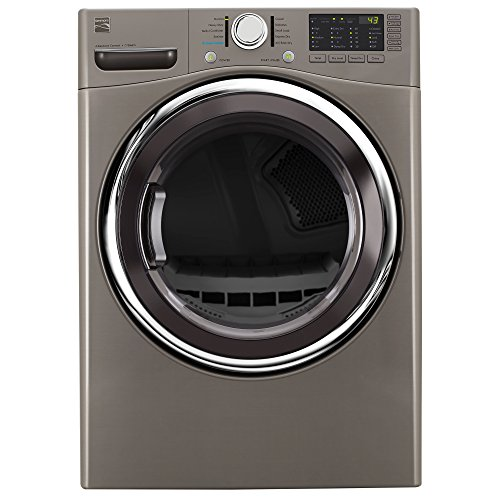 Kenmore 81383 7.4 cu. ft. Electric Dryer in Stainless Steel, includes delivery and hookup by Kenmore