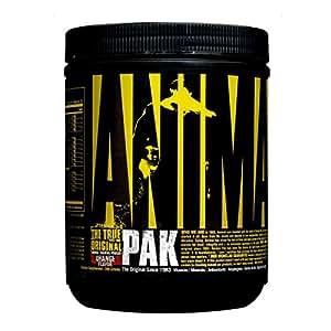 Universal Nutrition Animal Pak Sports Nutrition Multivitamin Supplement Powder Orange 44 Count