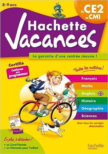 Hachette Vacances - Du CE2 au CM1 pdf ebook