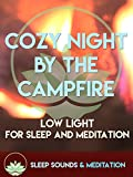 Cozy Night By The Campfire With Ocean Waves (HD)Sleep Sounds & Meditations