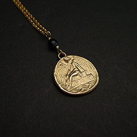 Nike | Victory | Greek coin necklace | Goddess of Victory (Nike Goddess Necklace)