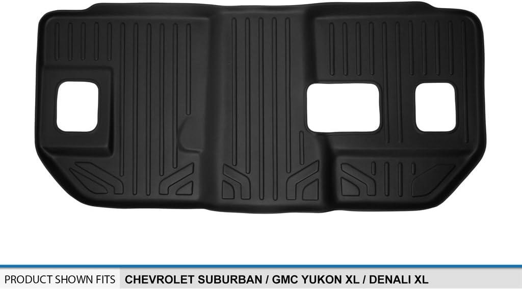 MAXFLOORMATS 3 Row Set Tan for 2007-2014 Suburban GMC  Yukon XL and Denali XL