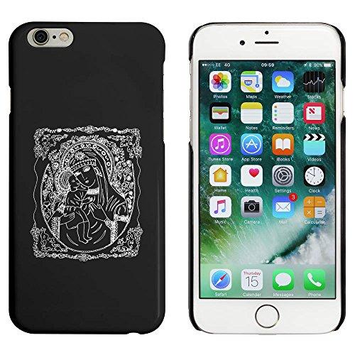 Schwarz 'Madonna & Kind' Hülle für iPhone 6 u. 6s (MC00032397)