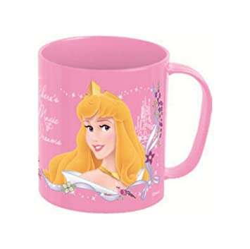 Taza Microondas 36 cl Princesas Dance & Romance: Amazon.es ...