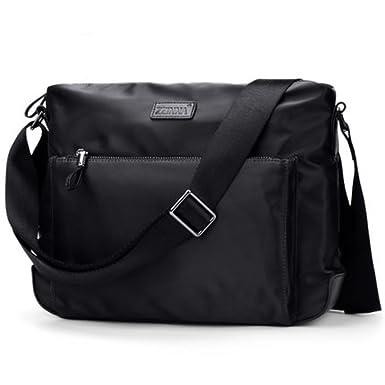 Waterproof Messenger Bag >> Amazon Com Zzinna Mens Messenger Bag Man Purse Cross Body Bags