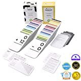 Think Tank Scholar 346 Addition and Subtraction Flash Cards | All Facts Color Coded | Best for Kids in Kindergarten, 1st, 2nd & 3rd Grade