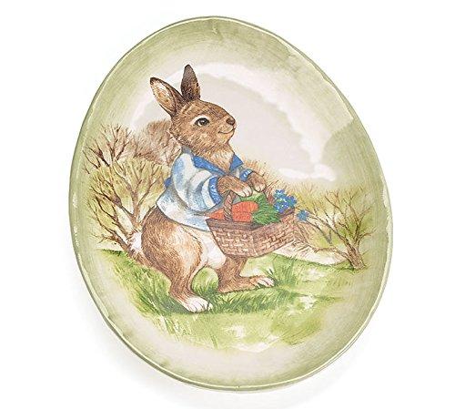 - Burton & Burton Country Rabbit Ceramic Plate