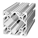 80/20 Inc., 2020, 10 Series, 2'' x 2'' T-Slotted Extrusion x 48''