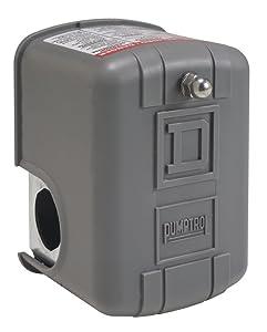 Square D by Schneider Electric 9013FSG52J25 Air-Pump Pressure Switch, Nema 1, 60-80 Psi Pressure Setting, 25-80 Psi Cut-Out, 20-30 Psi Adjustable Differential