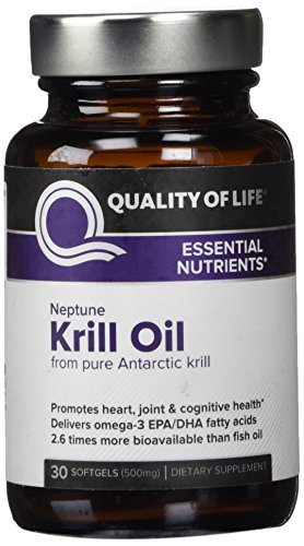 Quality of Life. Krill Oil. 30 Sgs.