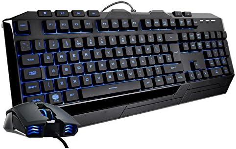 Combo de teclado mecánico LED y ratón Devastator II para juegos de ...