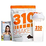 Chocolate Meal Replacement | 310 Shake Protein Powder is Gluten and Dairy Free, Soy Protein and Sugar Free | Includes Clear 310 Shaker and Free Recipe eBook (Digital) | 28 Servings