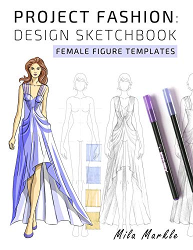 Project Fashion Design Sketchbook Female Figure Templates Designing Clothes Illustration Technical Drawing Buy Online In Cambodia Mila Markle Products In Cambodia See Prices Reviews And Free Delivery Over 27 000 Desertcart