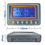 Thermometer Thermocouple K Type 4-Channel Multi